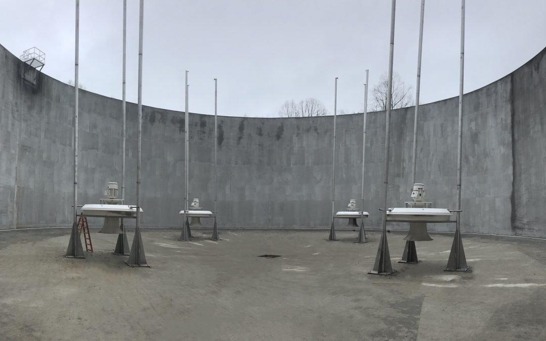 Sewer System Rehabilitation – 5 Million Gallon EQ Surge Basin – Lafayette, TN
