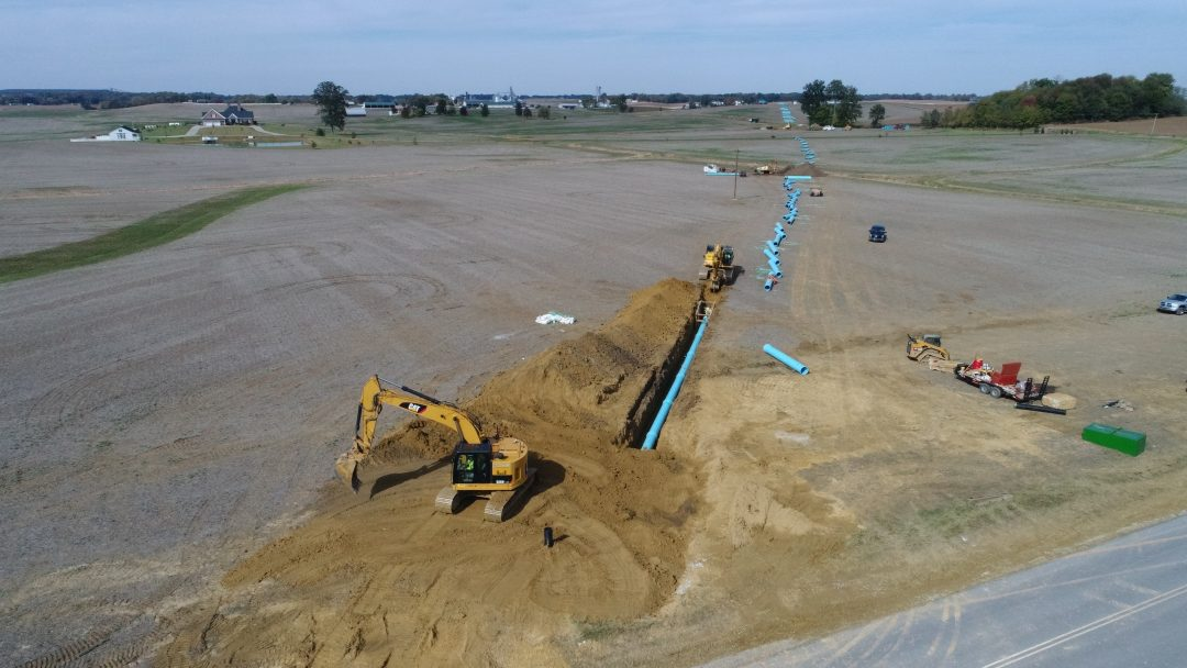 City of Morganfield – 24 inch Raw Water Line and Water Treatment Plant Aerator Replacement – Morganfield, KY